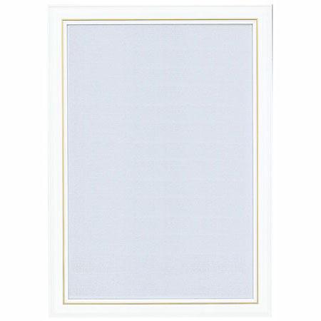 ジグソーパズルフレーム ニューDXウッドフレーム3 ホワイト 26*38cm_0