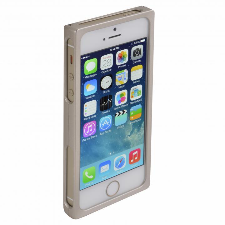 【iPhone SE/5s/5ケース】RECTA バンパーケース ゴールド iPhone 5/5sケース_0