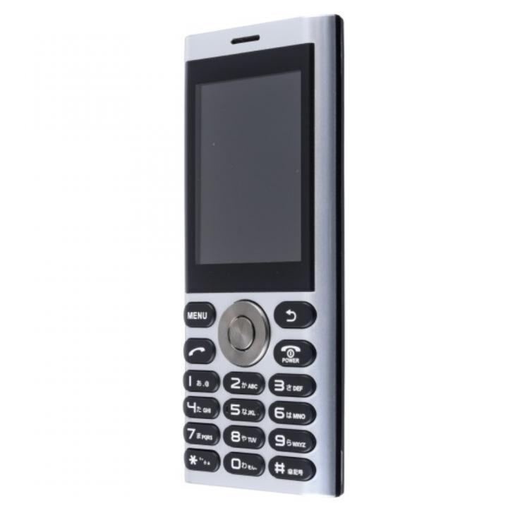 un.mode phone01 SIMフリー携帯電話 シルバー_0