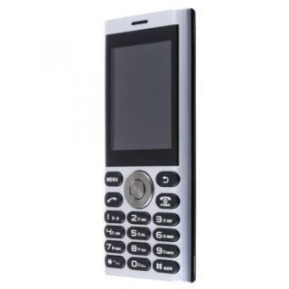 un.mode phone01 SIMフリー携帯電話 シルバー