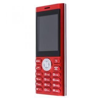 un.mode phone01 SIMフリー携帯電話 レッド