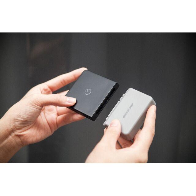 BricksPower 3000mAh ワイヤレスモバイルバッテリー Grey(第2世代) 出力10W/typeCコネクタ【8月下旬】_0