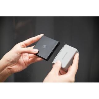 BricksPower 3000mAh ワイヤレスモバイルバッテリー Grey(第2世代) 出力10W/typeCコネクタ