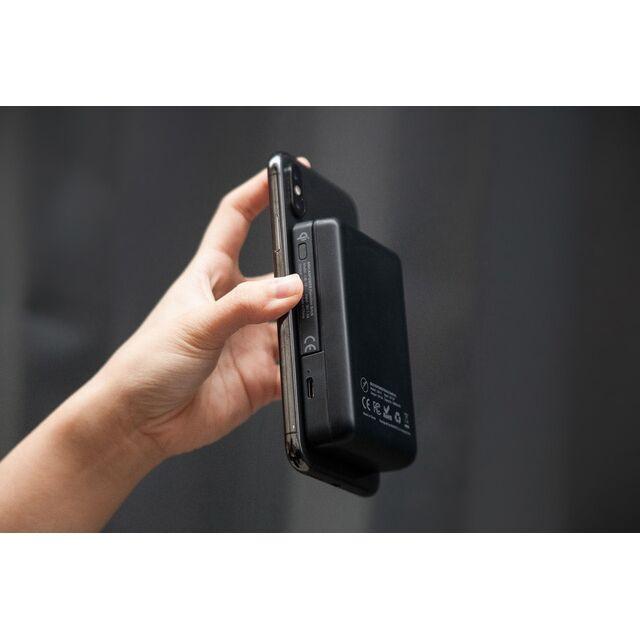 BricksPower 6000mAh ワイヤレスモバイルバッテリー Black_0