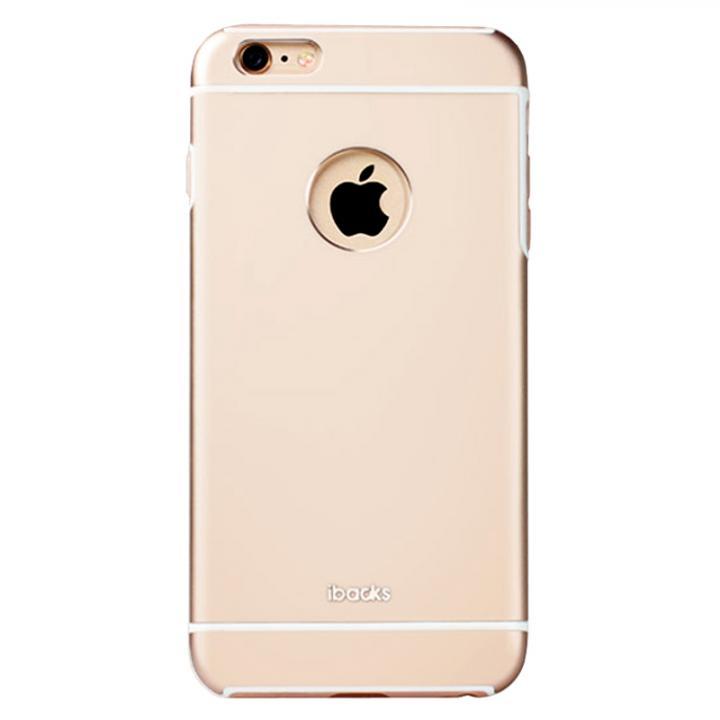 iPhone6 ケース 耐衝撃性アルミケース ibacks Essence Armor ゴールド iPhone 6_0