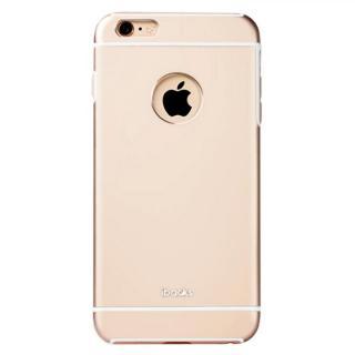 耐衝撃性アルミケース ibacks Essence Armor ゴールド iPhone 6