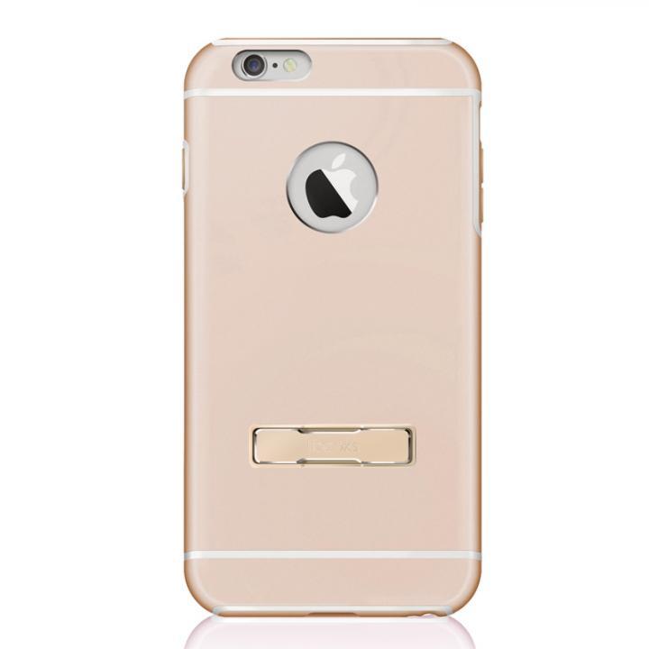 耐衝撃性アルミケース ibacks Essence Armor-KS ゴールド iPhone 6 Plus
