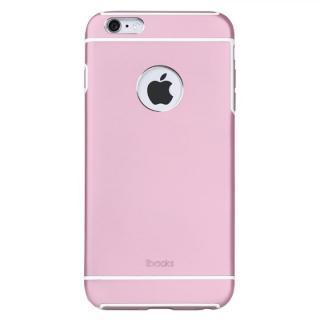 耐衝撃性アルミケース ibacks Essence Armor ピンク iPhone 6