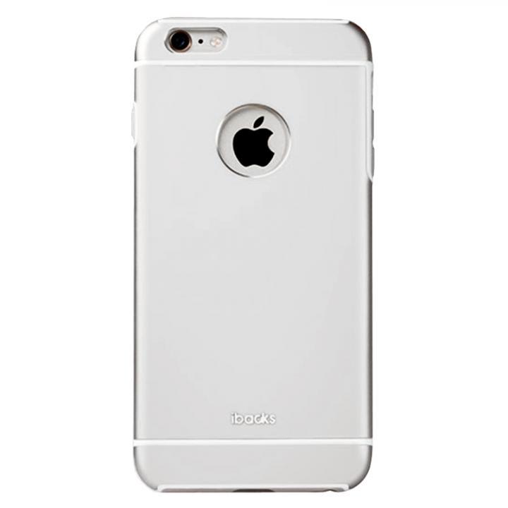 耐衝撃性アルミケース ibacks Essence Armor シルバー iPhone 6