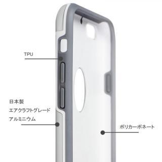 【iPhone6ケース】耐衝撃性アルミケース ibacks Essence Armor シルバー iPhone 6_3