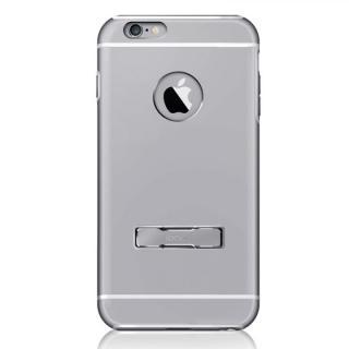 耐衝撃性アルミケース ibacks Essence Armor-KS グレイ iPhone 6 Plus