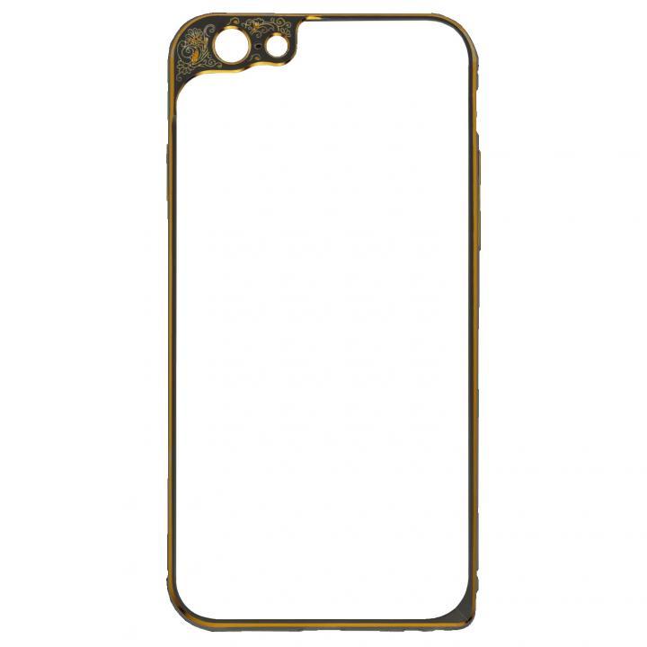 iPhone6 ケース アルミバンパー M's Select. Masquerade ブラック iPhone 6_0