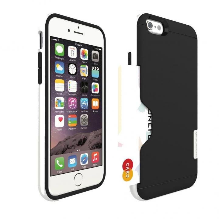 【iPhone6ケース】PhoneFoam LINE カード収納機能付きケース ピュアホワイト iPhone 6_0