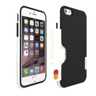 PhoneFoam LINE カード収納機能付きケース ピュアホワイト iPhone 6