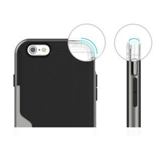 【iPhone6ケース】PhoneFoam LINE カード収納機能付きケース ダークシルバー iPhone 6_3
