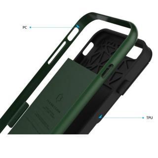 【iPhone6ケース】PhoneFoam LINE カード収納機能付きケース ハンターグリーン iPhone 6_4