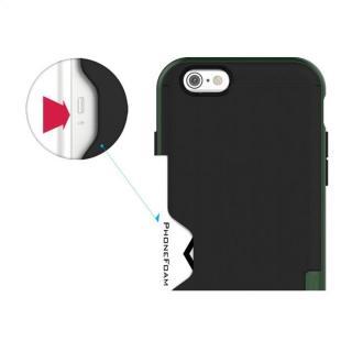 【iPhone6ケース】PhoneFoam LINE カード収納機能付きケース ハンターグリーン iPhone 6_6