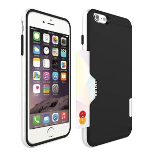 PhoneFoam LINE カード収納機能付きケース ピュアホワイト iPhone 6 Plus