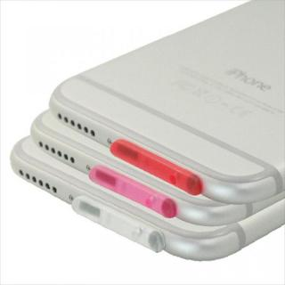 Lightningコネクタ TPUダブルキャップ3個セット カラー1 iPhone 6