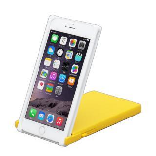 【iPhone6 Plusケース】ヌンチャクケース Trick Cover ホワイト/イエロー iPhone 6 Plus