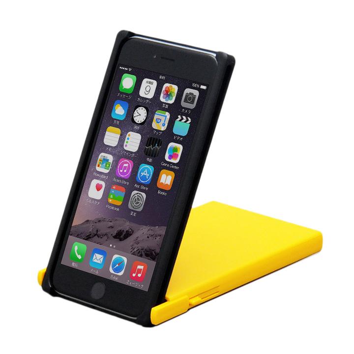 iPhone6 Plus ケース ヌンチャクケース Trick Cover ブラック/イエロー iPhone 6 Plus_0