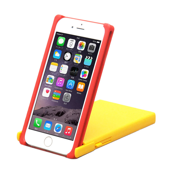 iPhone6 ケース ヌンチャクケース Trick Cover レッド/イエロー iPhone 6_0