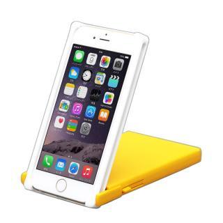 ヌンチャクケース Trick Cover ホワイト/イエロー iPhone 6