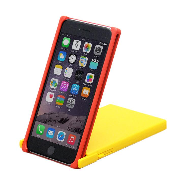 iPhone6 Plus ケース ヌンチャクケース Trick Cover レッド/イエロー iPhone 6 Plus_0