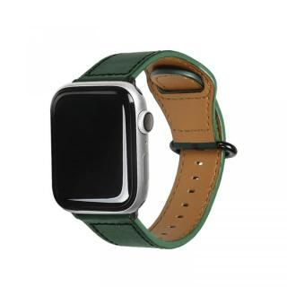 Apple Watch 40mm/38mm用 GENUINE LEATHER STRAP ディープグリーン