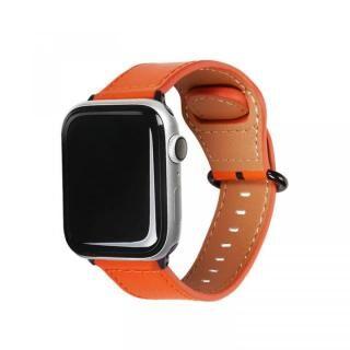 Apple Watch 44mm/42mm用 GENUINE LEATHER STRAP オレンジ
