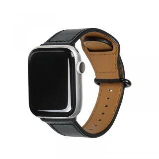 Apple Watch 44mm/42mm用 GENUINE LEATHER STRAP ブラック