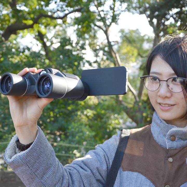 【iPhone6 Plus】ライブビュー双眼鏡  iPhone 5s/5/6/6 Plus_0