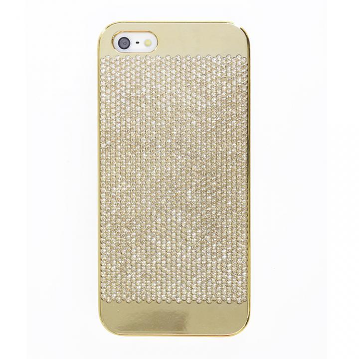 iPhone SE/5s/5 ケース スイスデザイン スワロフスキーケース ゴールド(Gold Swarovski) iPhone SE/5s/5ケース_0