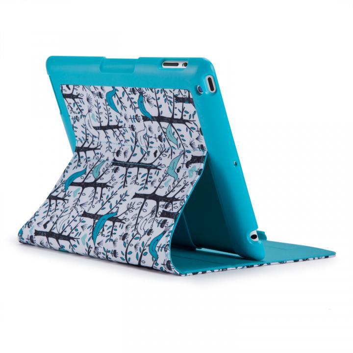 iPad(第3-4世代) FitFolio-LoveBirds Teal