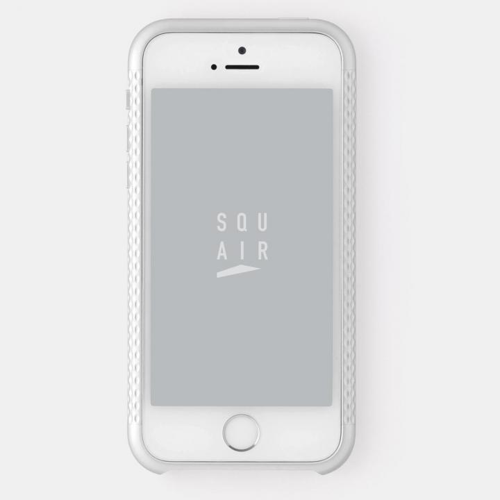 iPhone SE/5s/5 ケース 超々ジュラルミンA7075 4分割バンパー シルバー iPhone SE/5s/5バンパー_0