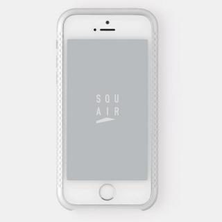 超々ジュラルミンA7075 4分割バンパー シルバー iPhone SE/5s/5バンパー