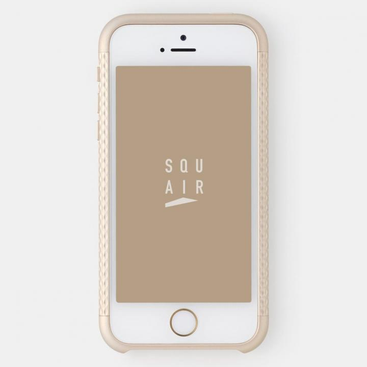 iPhone SE/5s/5 ケース 超々ジュラルミンA7075 4分割バンパー ゴールド iPhone SE/5s/5バンパー_0