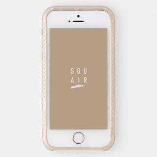 超々ジュラルミンA7075 4分割バンパー ゴールド iPhone SE/5s/5バンパー