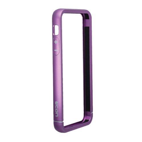 iPhone SE/5s/5 ケース 工具不要のアルミニウムバンパー パープル_0