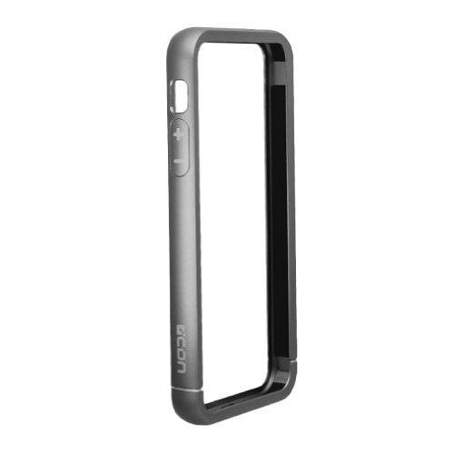【iPhone SE/5s/5ケース】工具不要のアルミニウムバンパー グレイ_0