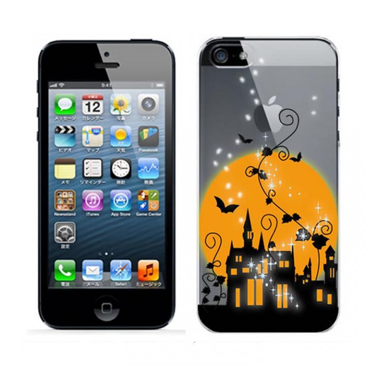 iPhone SE/5s/5 ケース クリアデザインケース ハロウィン_0