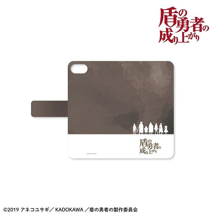 iPhone SE/5s/5 ケース 盾の勇者の成り上がり 手帳型ケース iPhone SE/5s/5【5月下旬】_0