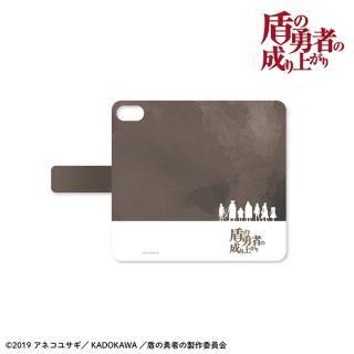 iPhone SE/5s/5 ケース 盾の勇者の成り上がり 手帳型ケース iPhone SE/5s/5【5月下旬】