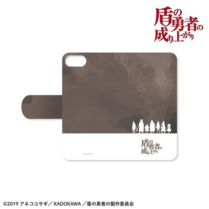 iPhone8/7/6s/6 ケース 盾の勇者の成り上がり 手帳型ケース iPhone 8/7/6s/6_0
