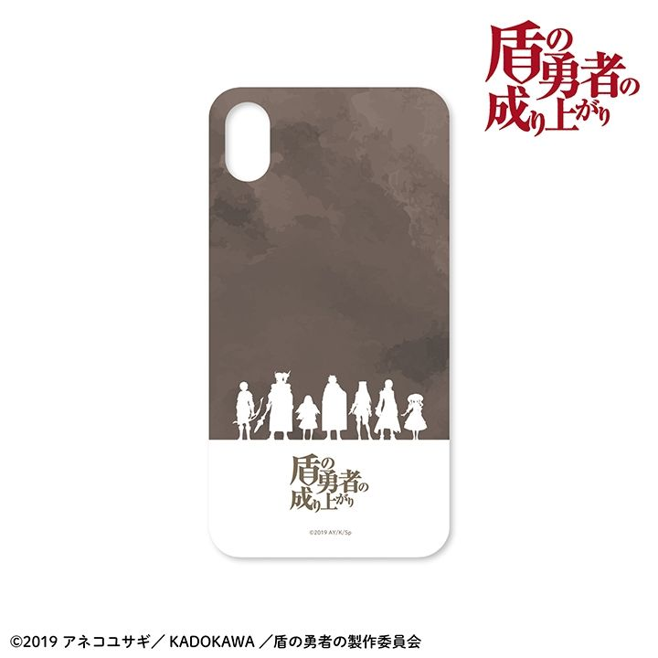 iPhone XR ケース 盾の勇者の成り上がり ハードケース iPhone XR【9月下旬】_0