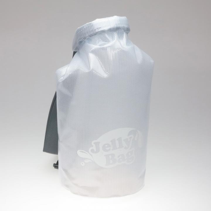 丸底デザインの防水バッグ Jelly Bag 10L ホワイト_0