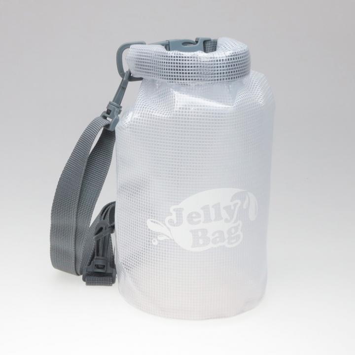 丸底デザインの防水バッグ Jelly Bag 3L ホワイト_0