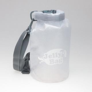 丸底デザインの防水バッグ Jelly Bag 3L ホワイト