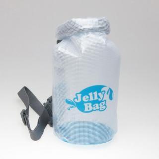 丸底デザインの防水バッグ Jelly Bag 3L ブルー