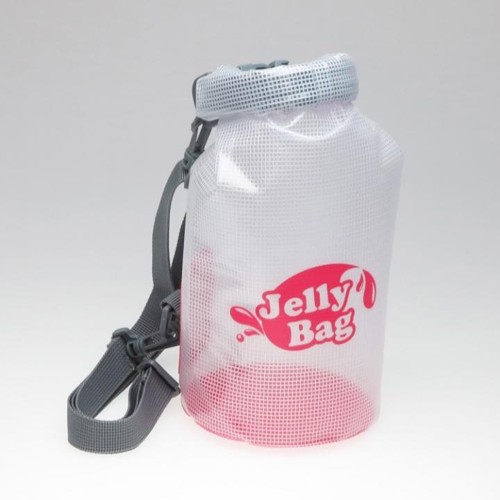 丸底デザインの防水バッグ Jelly Bag 3L ピンク_0
